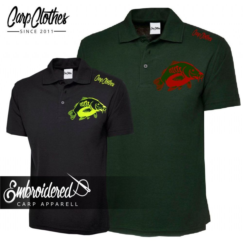 CHILD 023 EMBROIDERED CARP POLO